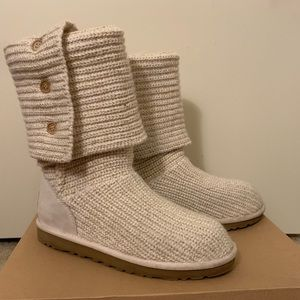 Ugg Classic Cardy Boots size 9